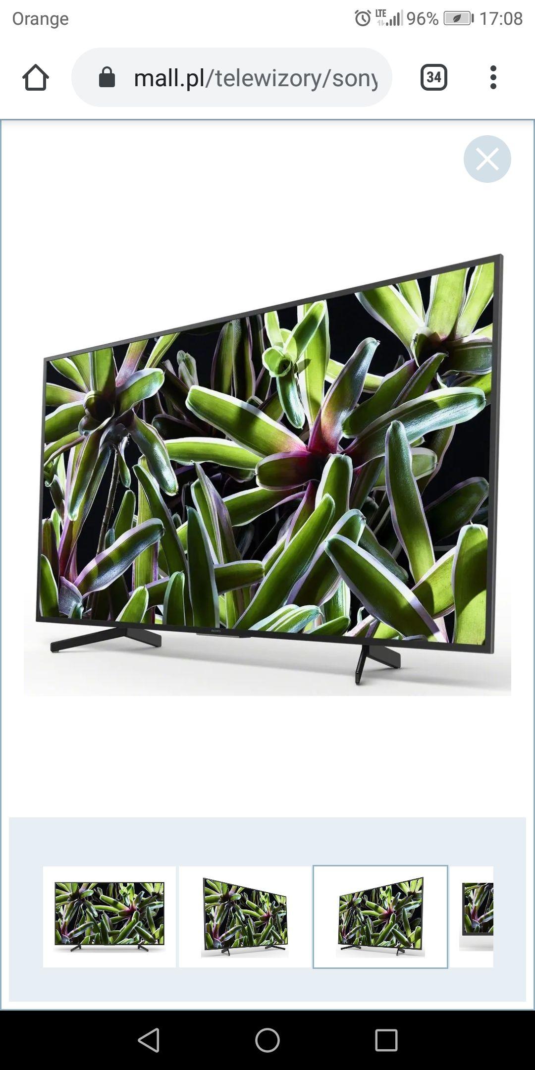 Telewizor SONY KD-65XG7005,4K X-Reality PRO,LAN, Wi-Fi,HDR, 60Hz - Motionflow XR 400 Hz