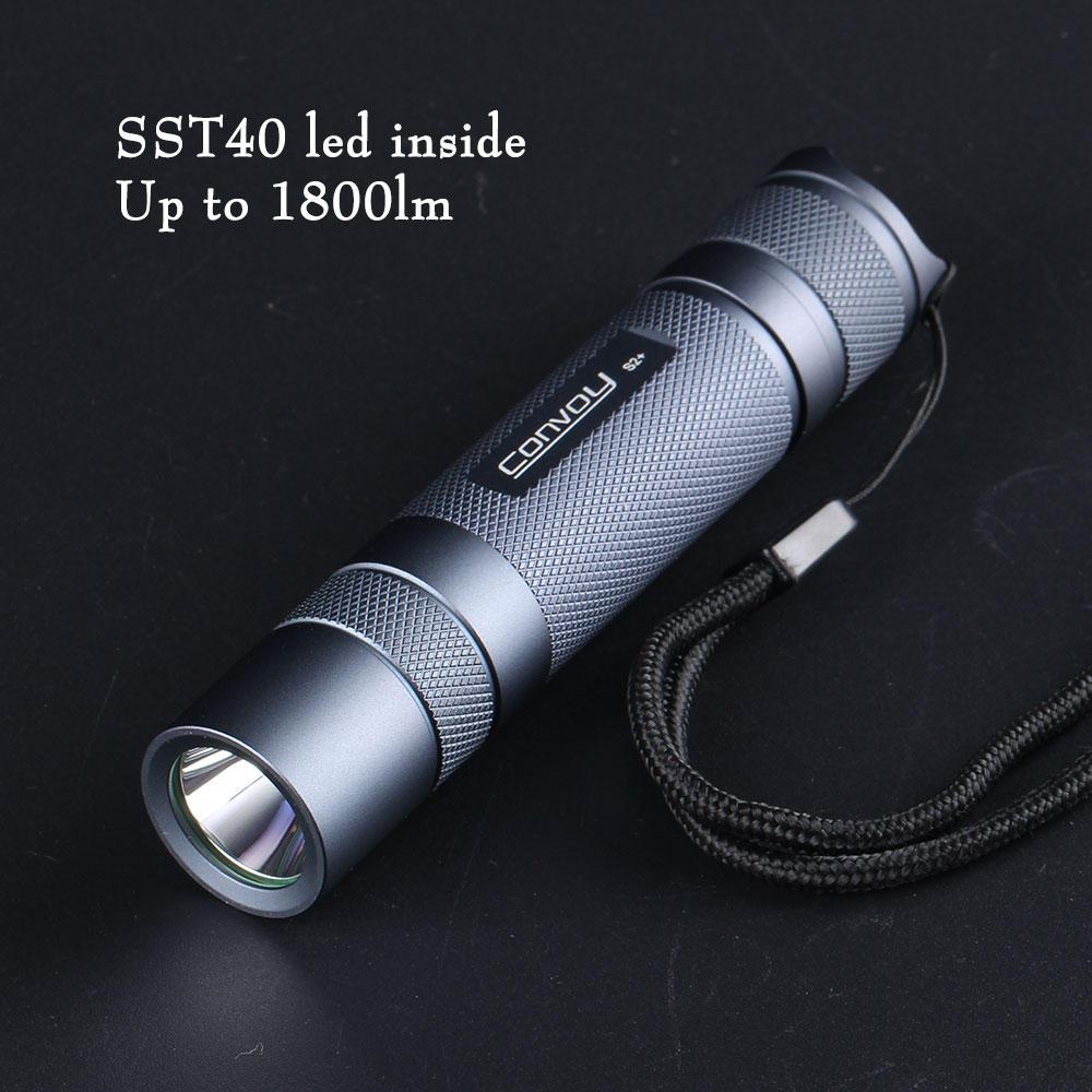 Convoy S2+ SST40 5000K 5A Flashlight 11.99$