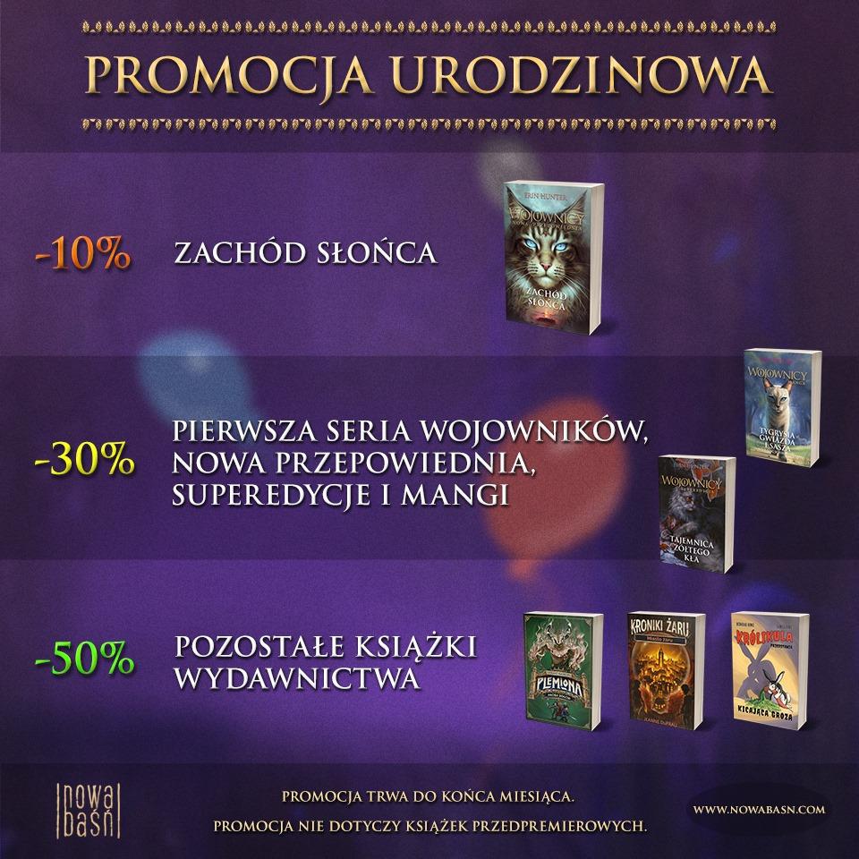 Nowa Baśń promocja na książki