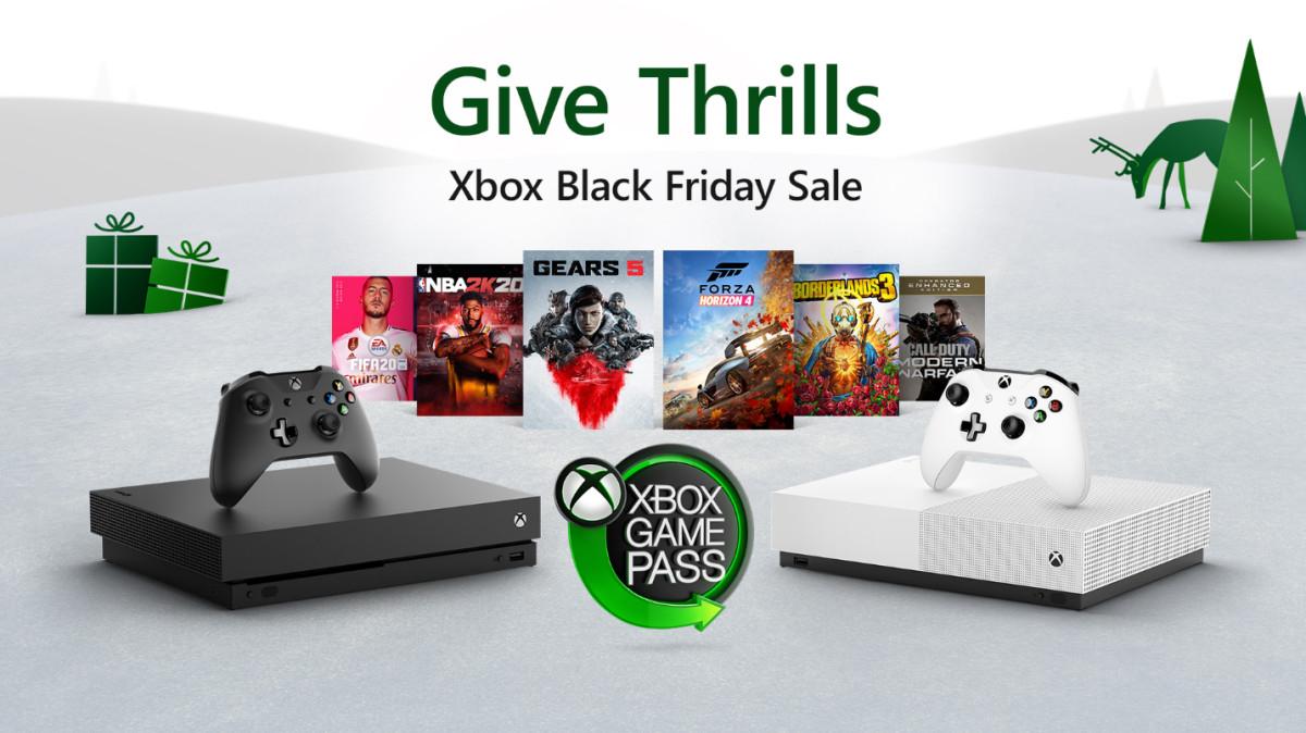 Xbox Black Friday - wyprzedaż gier w sklepie Microsoft Store