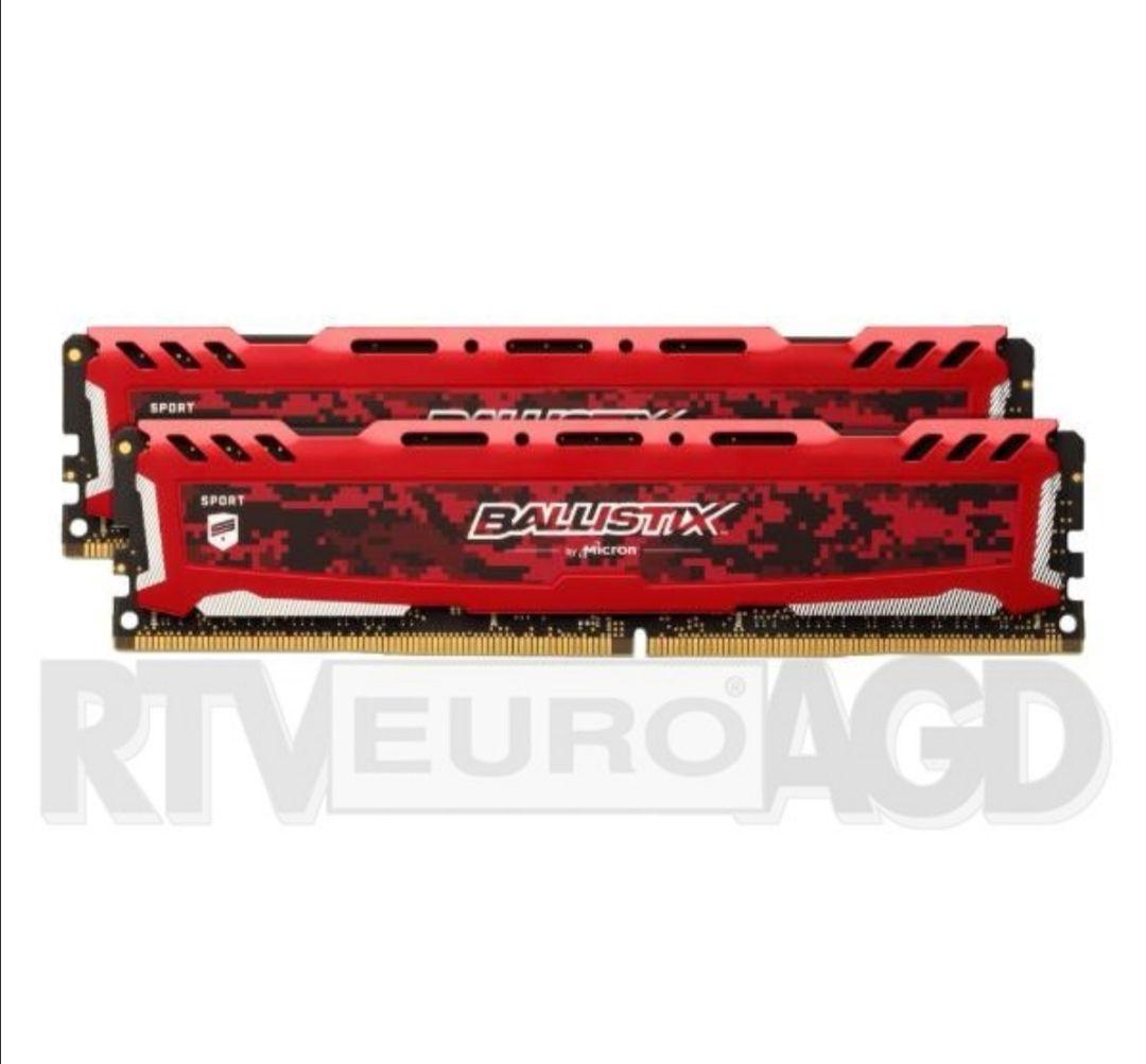Crucial Ballistix Sport LT Red DDR4 16GB (2x8GB) 3000 CL15