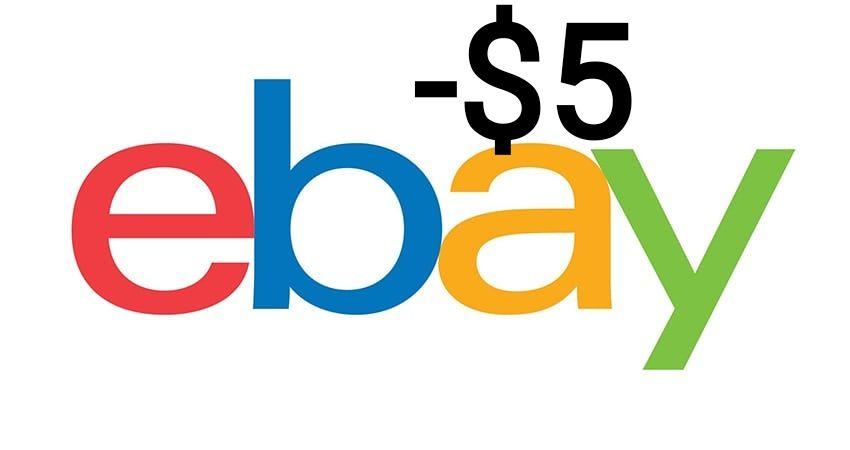 Ebay kupon -$5 (brak MWZ)