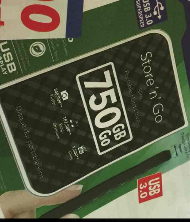 Verbatim dysk 750GB Store'n Go USB 3.0