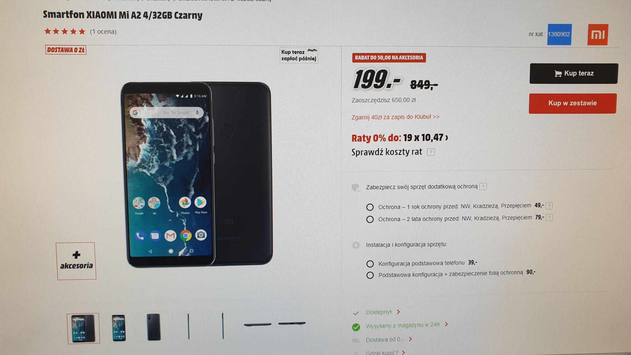 Xiaomi Mi a2 4/32 MediaMarkt