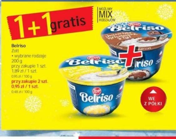Zott Belriso 1+1 gratis@Intermarche 26.11-02.12