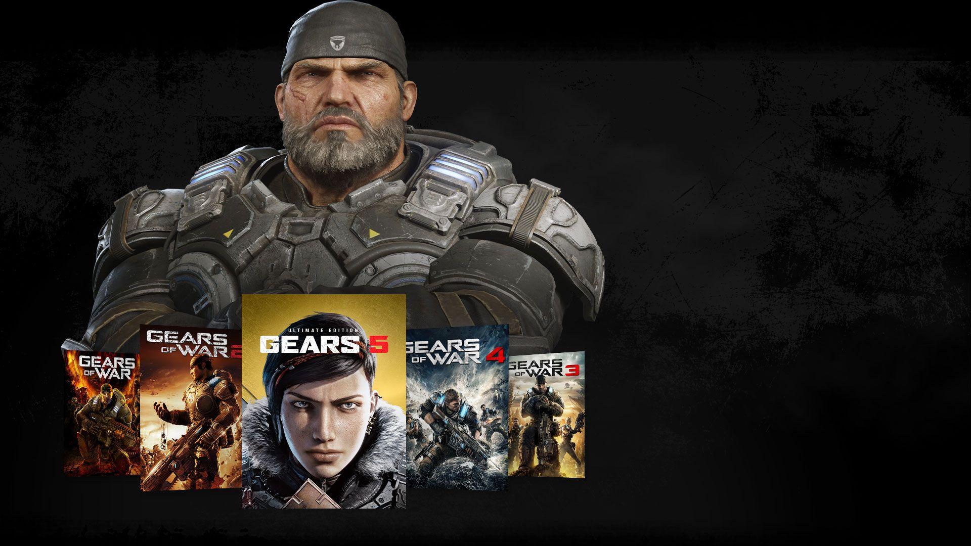 Gears 5: Pakiet pakietów Xbox One. Jeszcze z kodem 2% taniej..