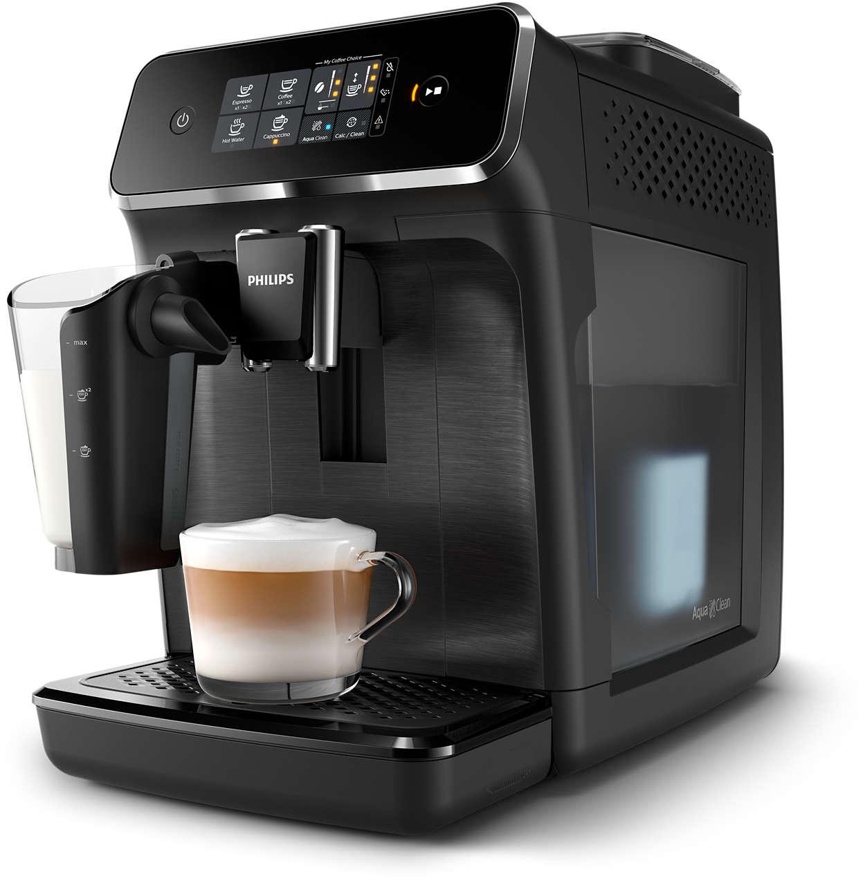 Automatyczny ekspres do kawy Philips 2200 LatteGo EP2230/10 w super cenie