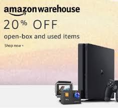20% zniżki na Amazon Warehouse - już działa! amazon.de i inne