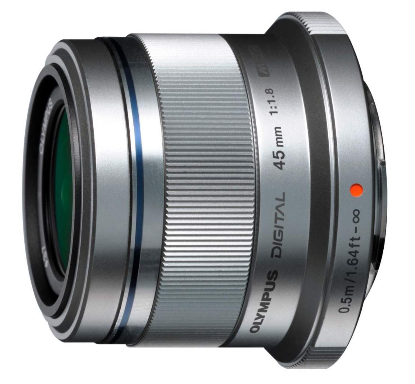 Obiektyw M.ZUIKO DIGITAL 45mm F/1.8