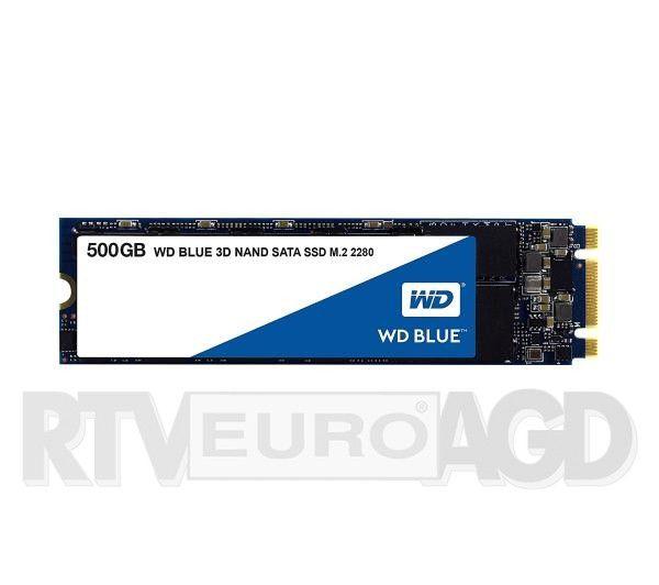 Dysk SSD WD Blue M.2 500GB @euro.com.pl darmowa dostawa kurierem