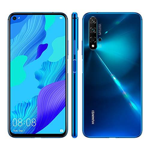 Huawei Nova 5T (Honor 20) 6/128 Poczwórny aparat główny, NFC, Dual Sim. Niebieski, fioletowy, czarny. Smartfon bezpośrednio od Amazon.es
