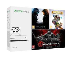 Xbox One S 500GB Rare Replay, Halo 5 Guardians oraz Gears of War Ultimate Edition