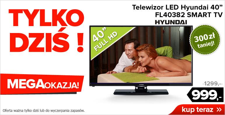 Telewizor Hyundai 40' HD LED FL40382 SMART za 999zł @ Agito.pl