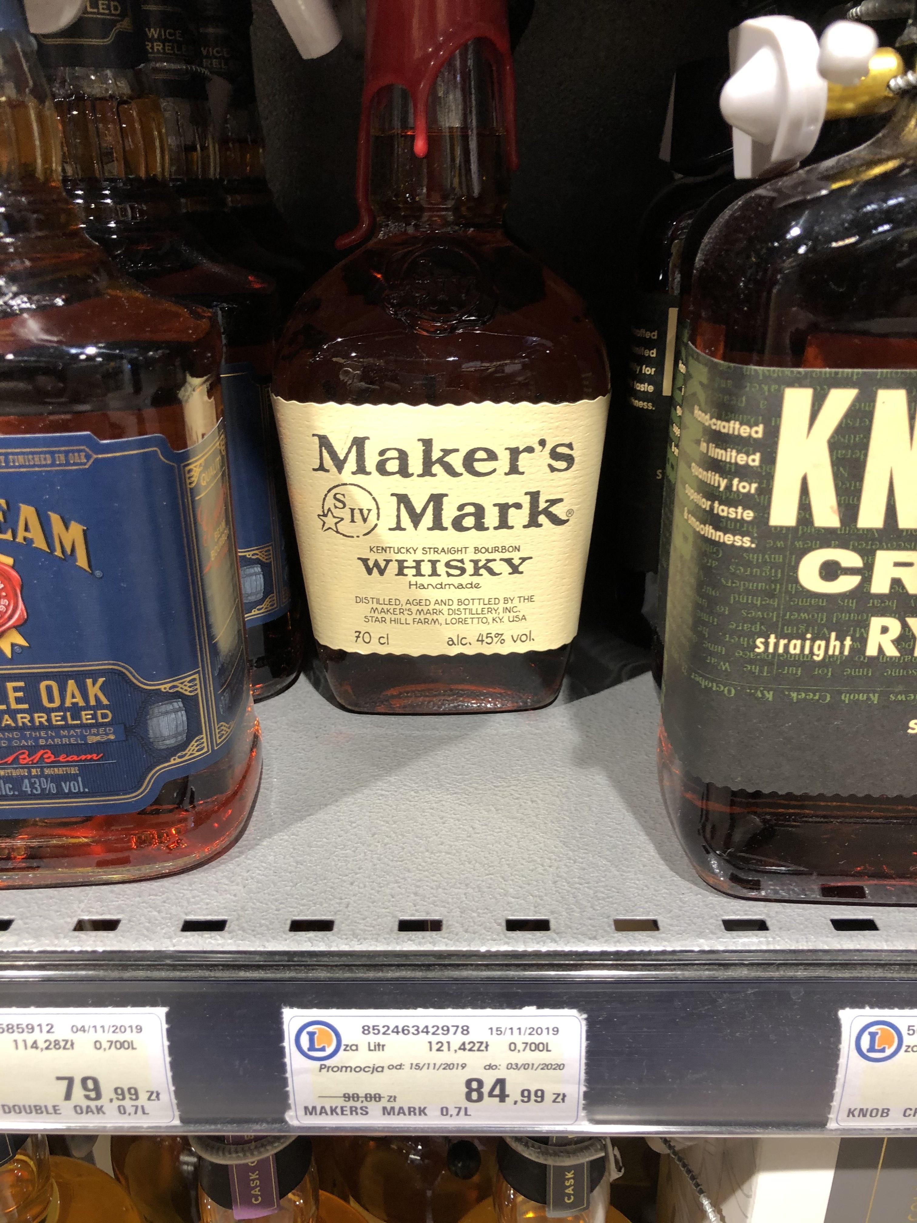 Whisky Maker's Mark@ Leclerc
