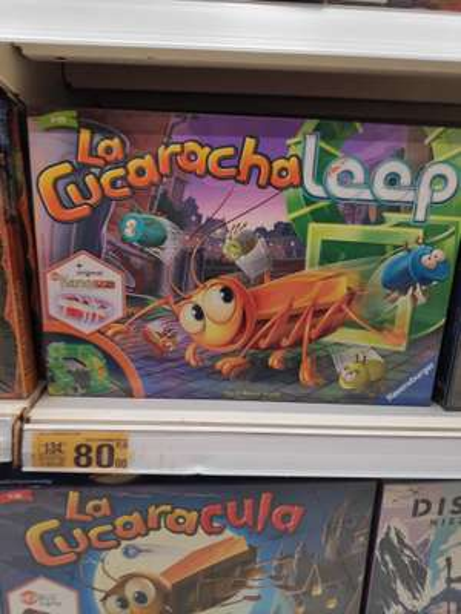 Gra planszowa La Cucaracha Loop - Auchan Toruń