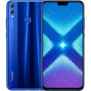 HONOR 8X 4/128 GB. Smartfon z dytrybucji PL (niebieski)