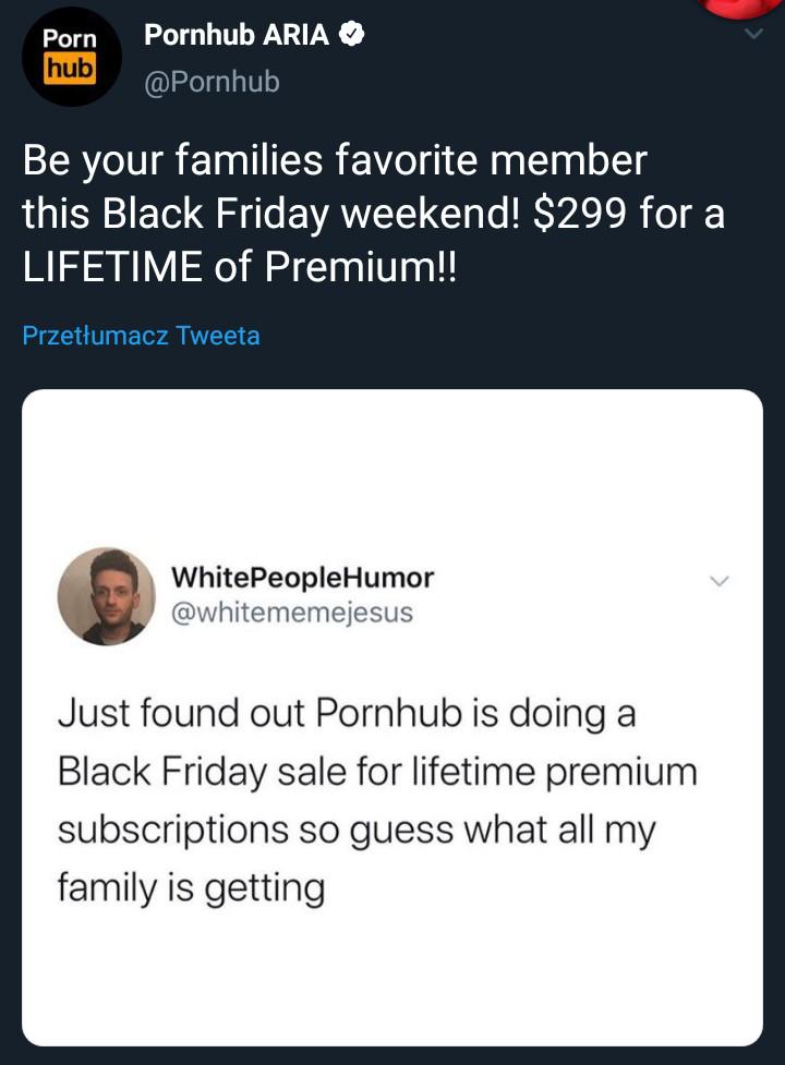 Pornhub premium do końca życia 299$