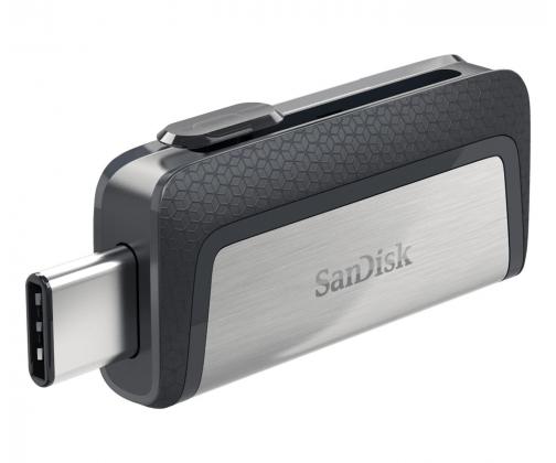 Pendrive SanDisk 128GB Ultra Dual USB Type-C 150MB/s Gorący strzał X-kom 500 sztuk