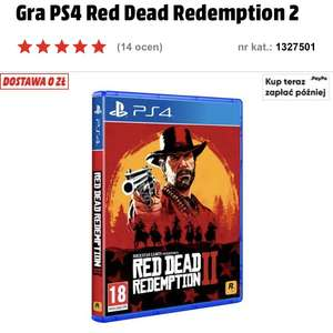 PS4 Red Dead Redemption 2 mediamarkt