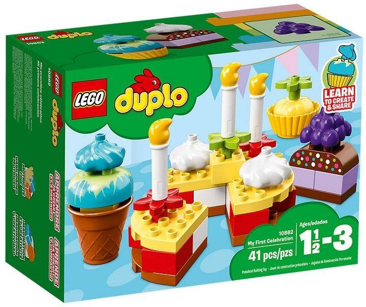 Klocki LEGO Moje pierwsze przyjęcie 10862 w @Carrefour.pl