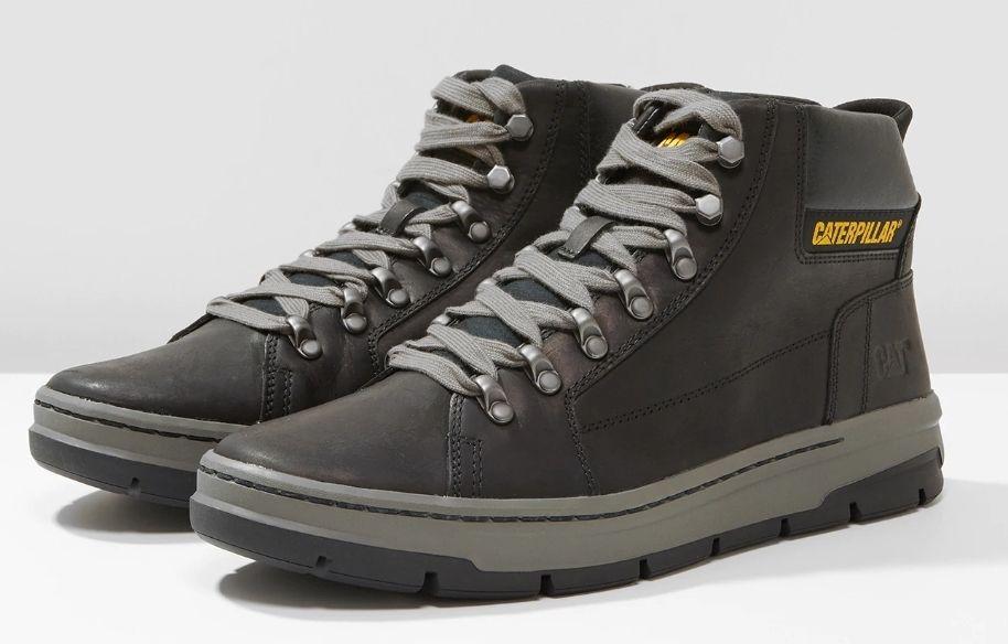 Skórzane buty męskie Caterpillar IRONDALE