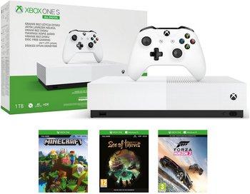 Konsola MIROSOFT Xbox One S, 1 TB + Minecraft + Sea of Thieves + Forza Horizon 3