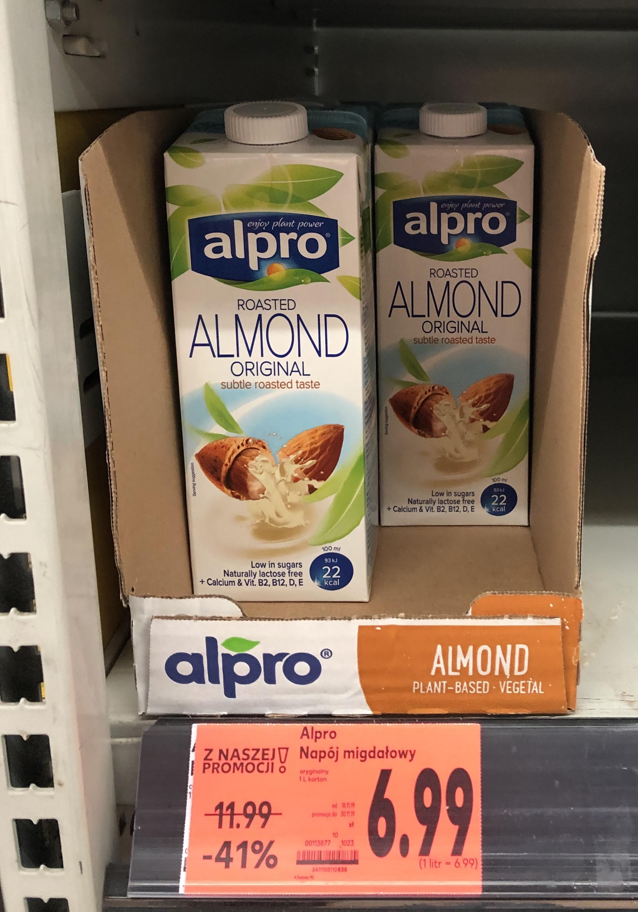 Mleko/Napój migdałowy Aplro Kaufland
