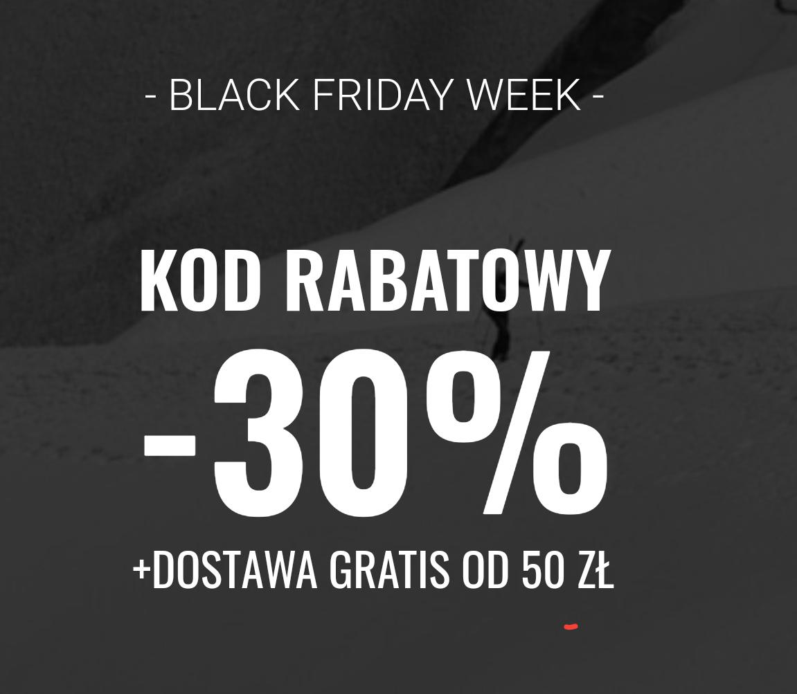 Skalnik 30% od cen regularnych na czarny piątek.