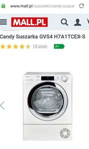 Candy Suszarka GVS4 H7A1TCEX-S