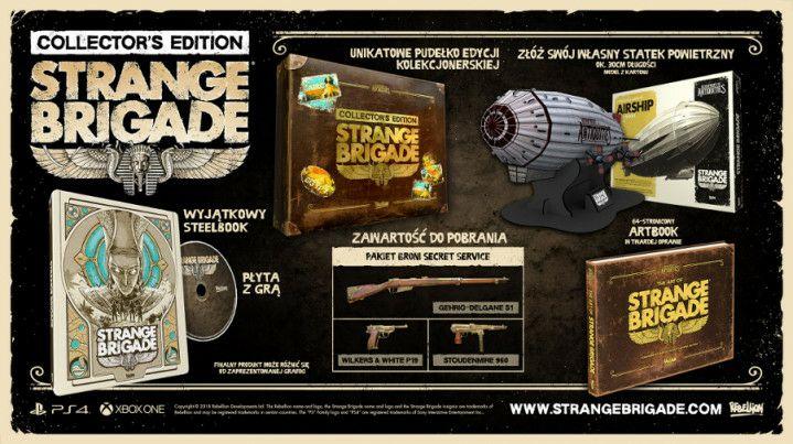 Edycja kolekcjonerska Strange Brigade (PS4/Xbox One)