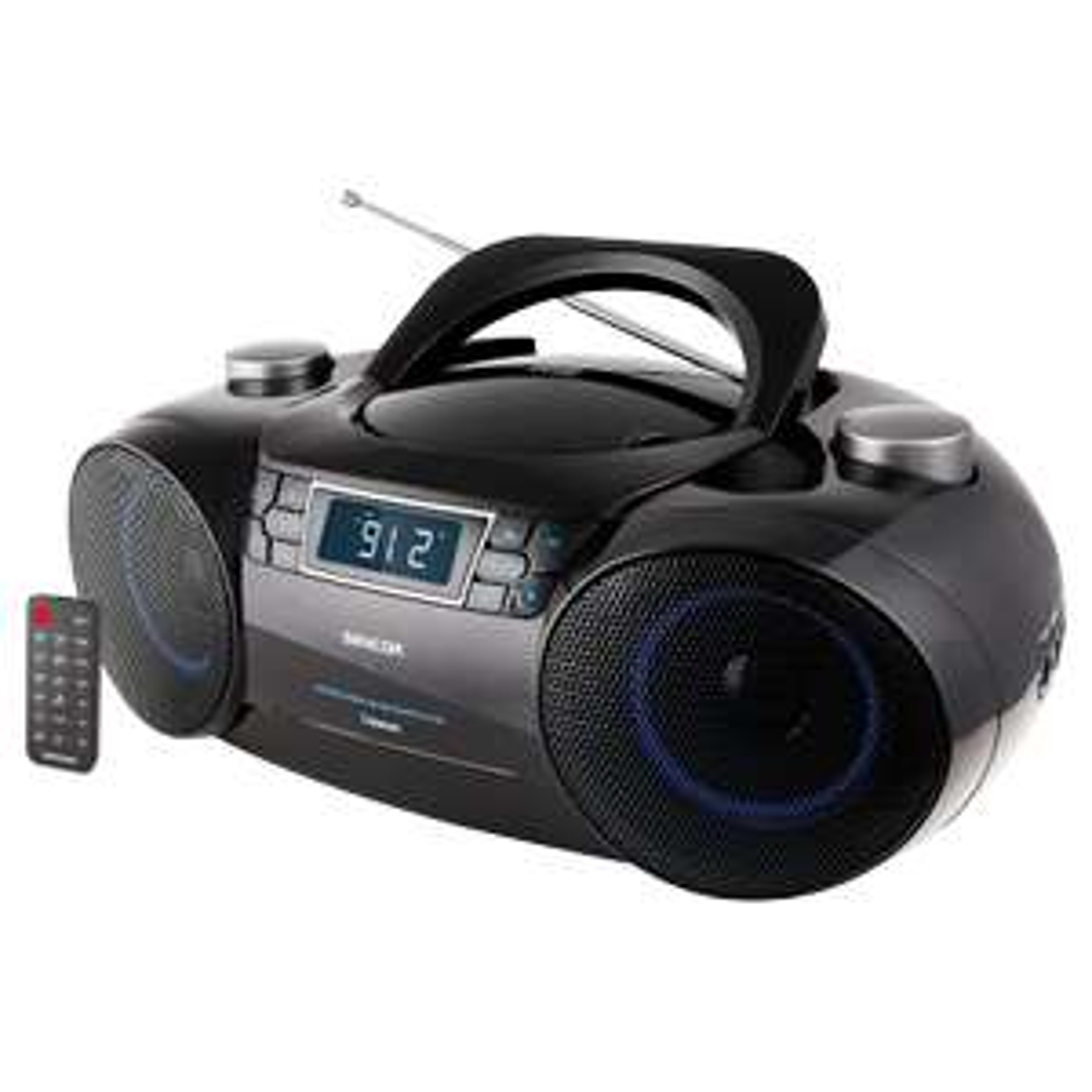 Sencor Spt 4700 Radio Fm Z Cd Bt Mp3 Sd Usb Aux 12w