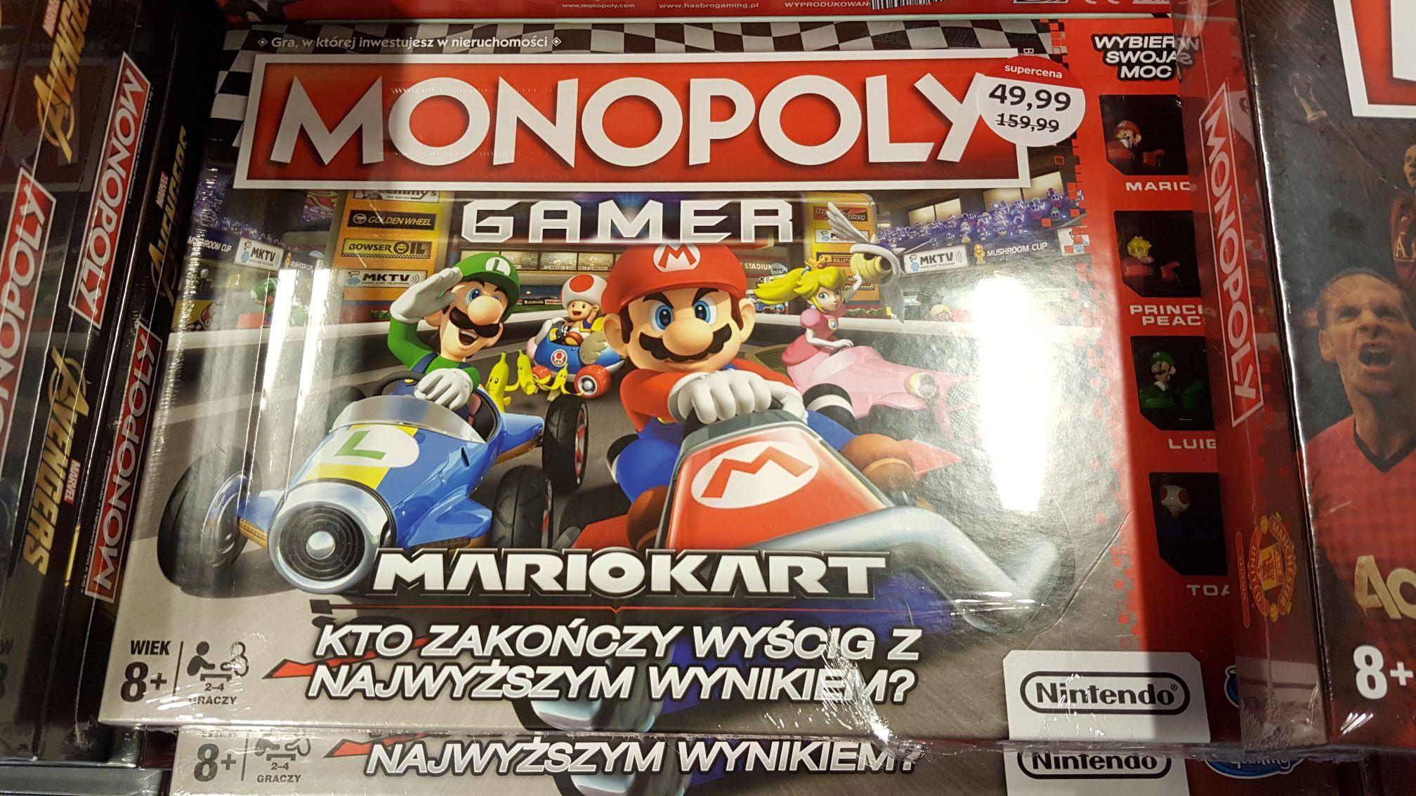 Monopoly Mario Kart EMPIK (w stacjonarnych jeszcze taniej)