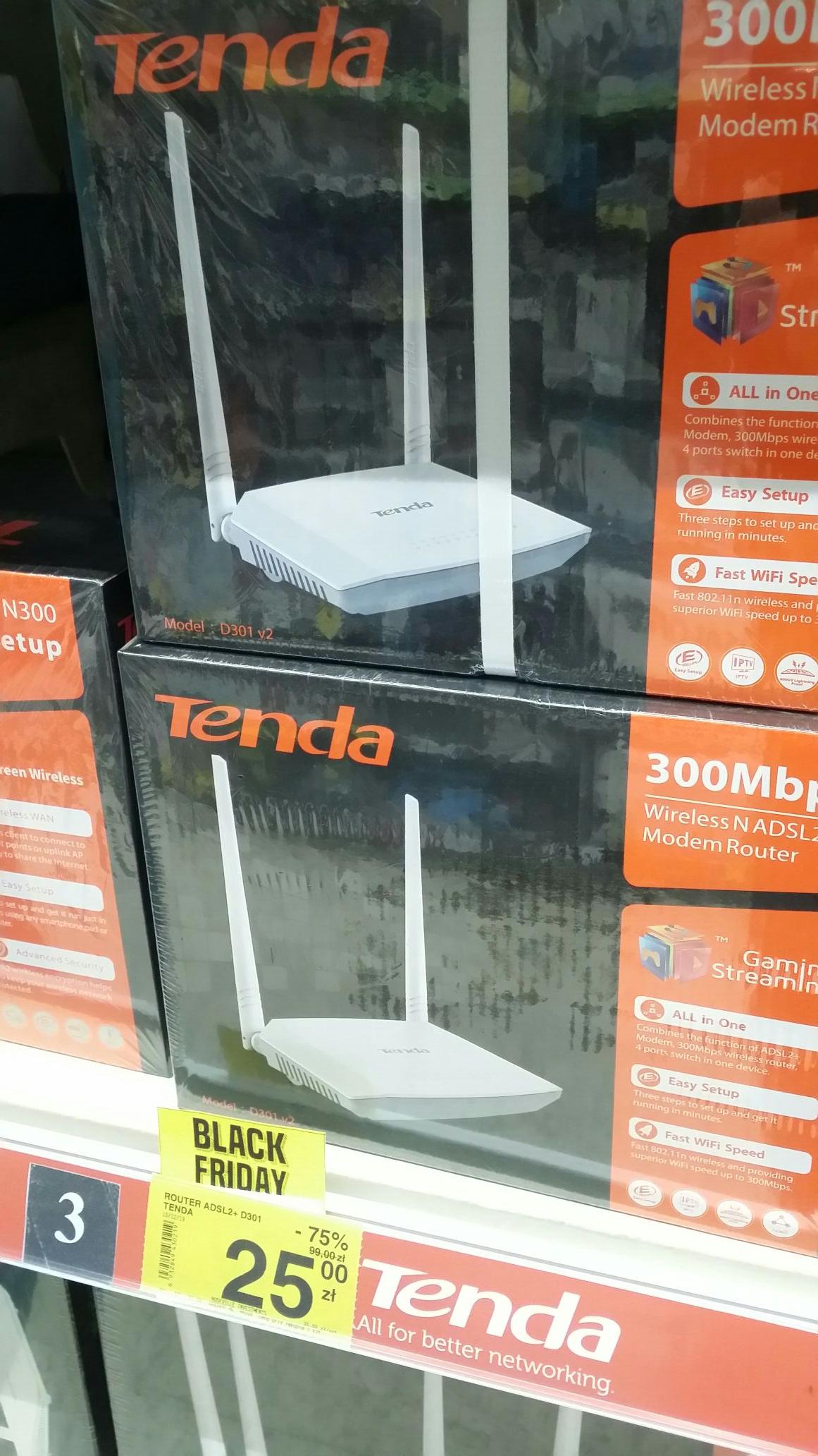 Router tenda d301 ADSL2+