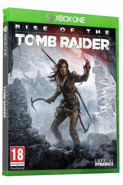 Rise of the Tomb Raider PL + nakładki na analogi Xbox One