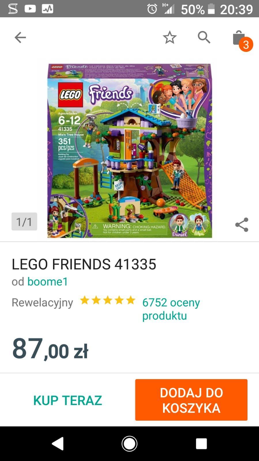 Lego friends 41335.