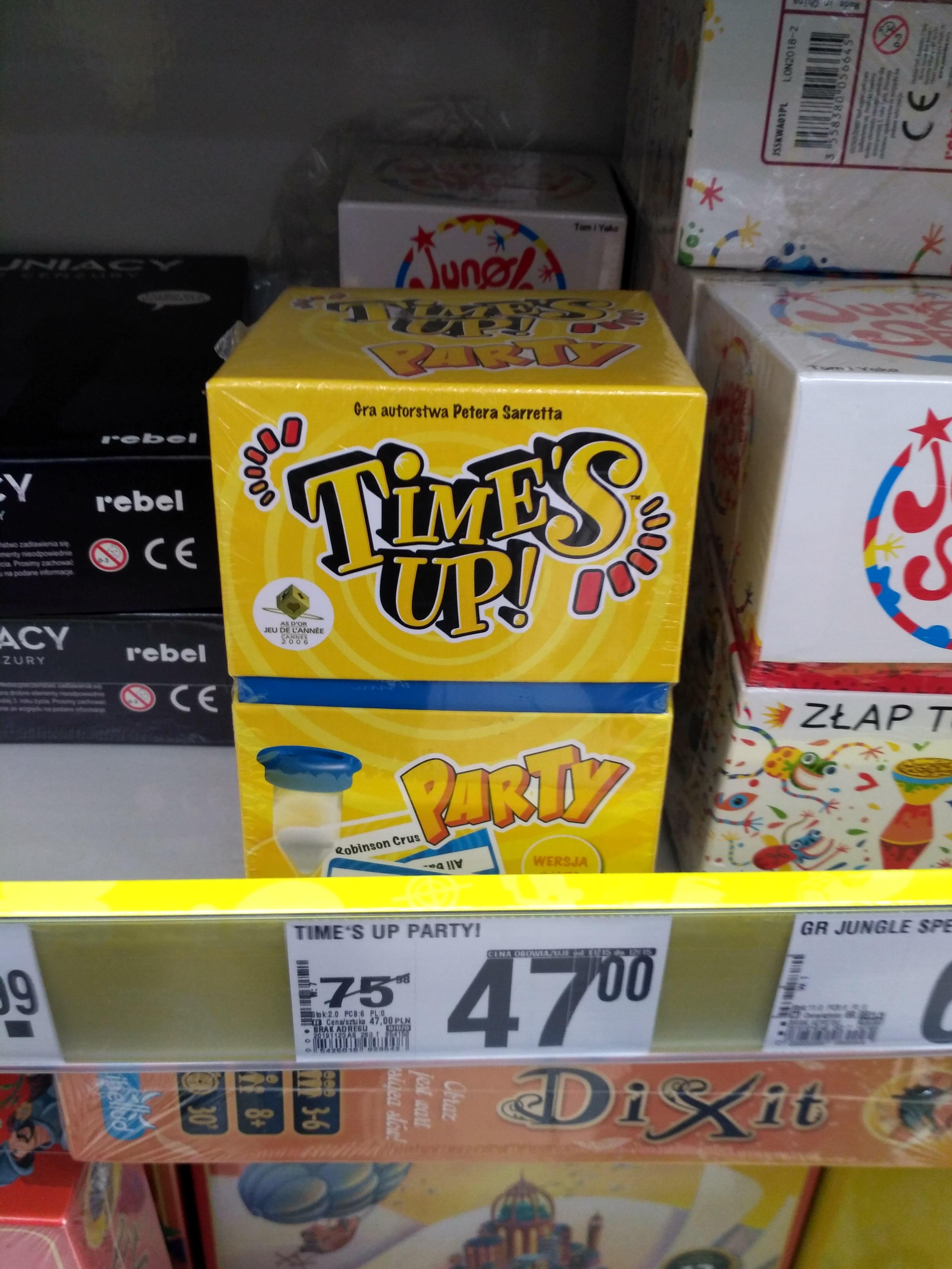 gra Times UP Warszawa Auchan puławska