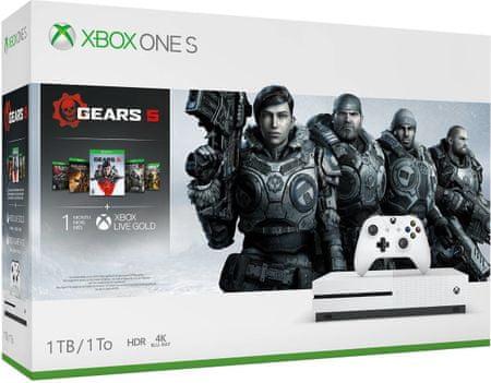 Konsola Xbox One S 1TB + Gears 5 Standard Edition