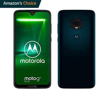 Motorola G7 Plus 4/64 głośniki stereo, NFC, pełny Dual Sim czerwony/granat. Smartfon z Amazon WHD 167,03€ z wysyłką i VAT PL-jak nowy/ideal.