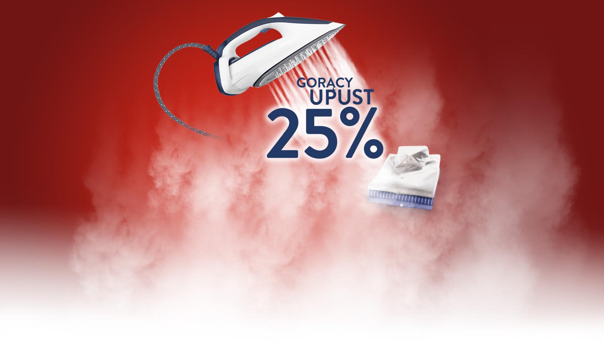 [cashback] 25% zwrotu za zakup żelazka lub stacji parowej TEFAL