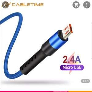 Kabel micro USB Cabletime