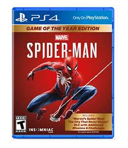 Marvel's Spider-Man: Game Of The Year Edition (PS4) @Amazon.com