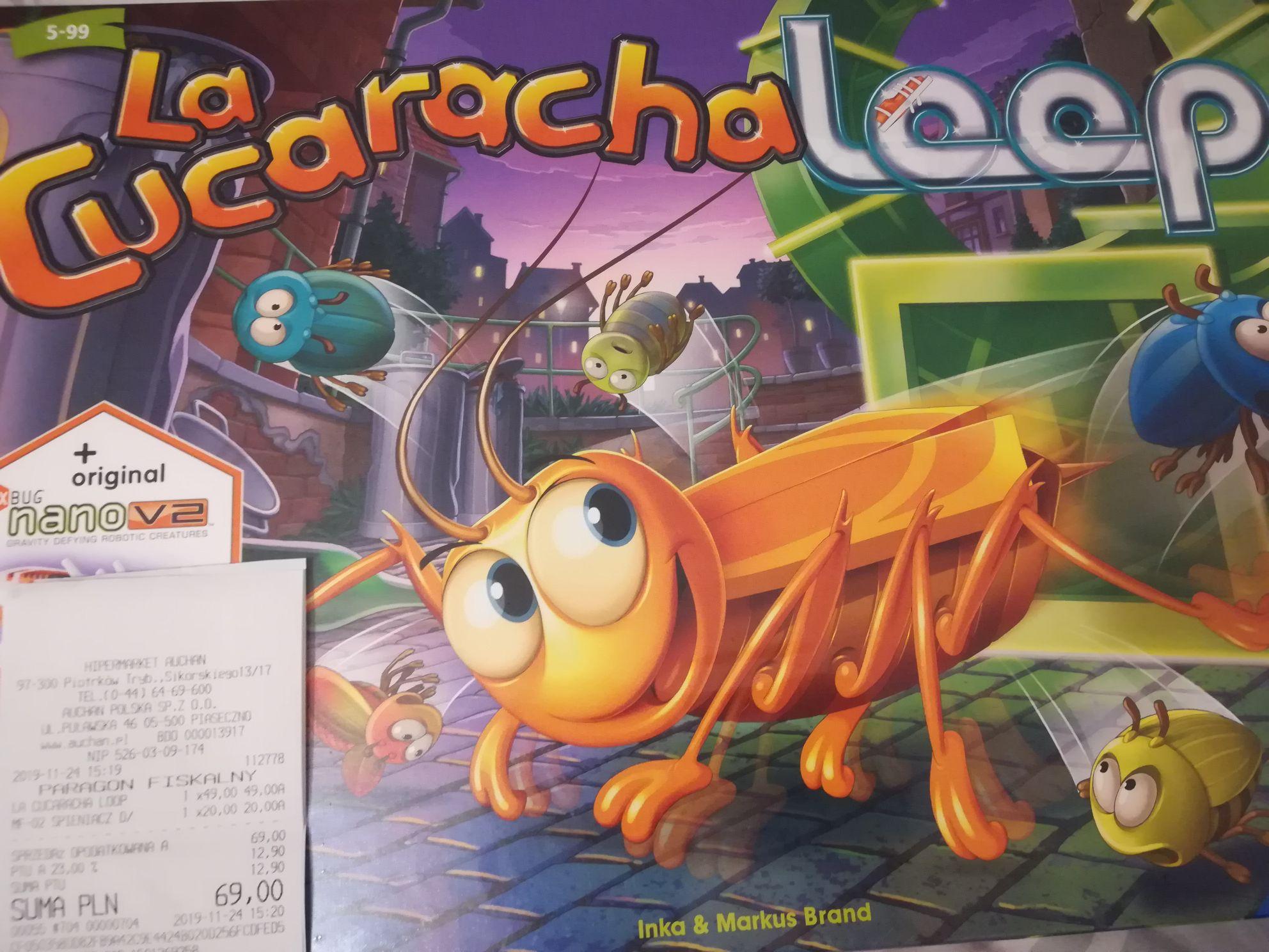 La Cucaracha Loop - gra planszowa, Auchan Piotrków Trybunalski