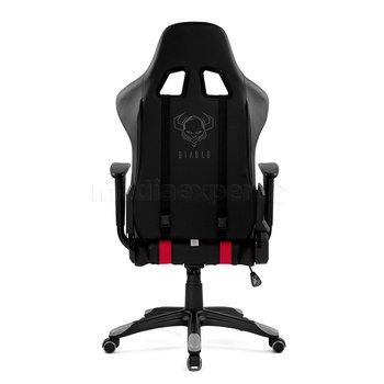 Fotel DIABLO CHAIRS X-One Czarno-czerwony
