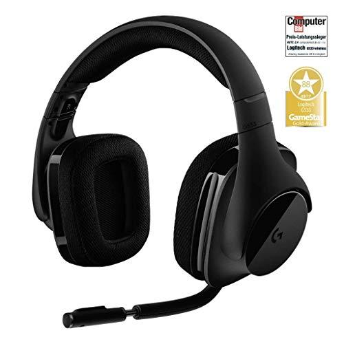 """Słuchawki bezprzewodowe """"gamingowe"""" Logitech G533"""