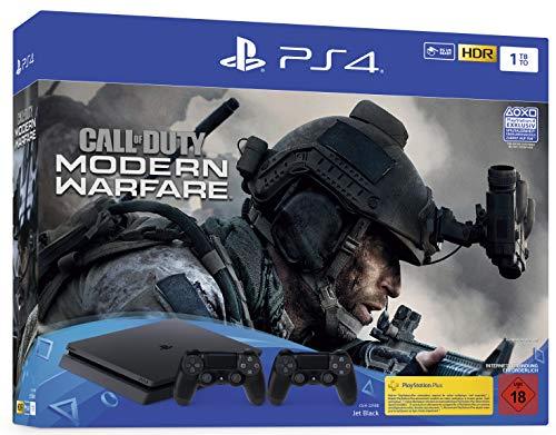 PS 4 Slim 1TB z 2x pad oraz Death Stranding lub Call of Duty MF