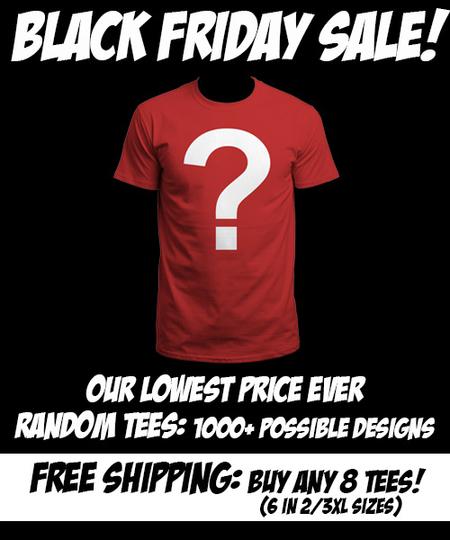 Losowe koszulki z QWERTEE za 4$/€/£