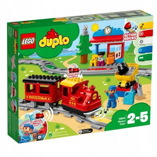 Kolejka Lego Duplo 10874