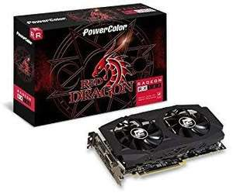AMD Powercolor RX 580 8GB red dragon karta graficzna amazon.es