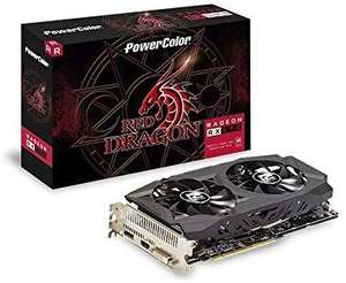 AMD Powercolor RX 590 8GB red dragon karta graficzna amazon.es