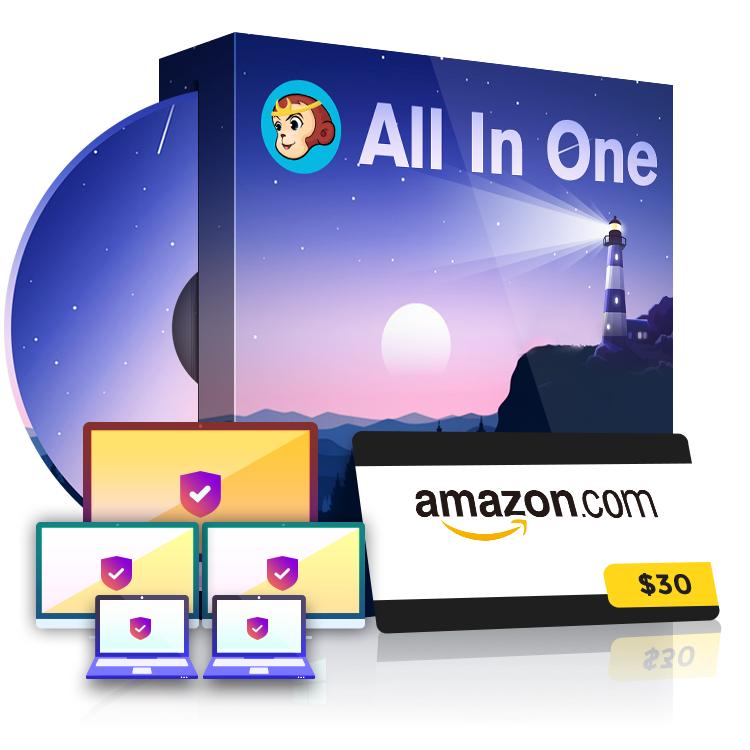 DVDFab All-In-One - lifetime - 5 licencji